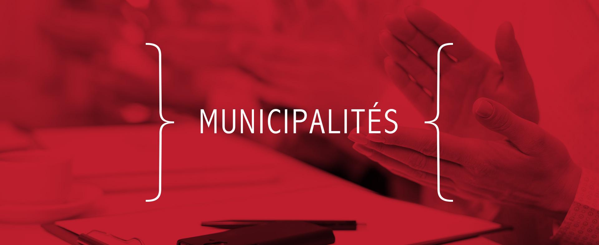Municipalités