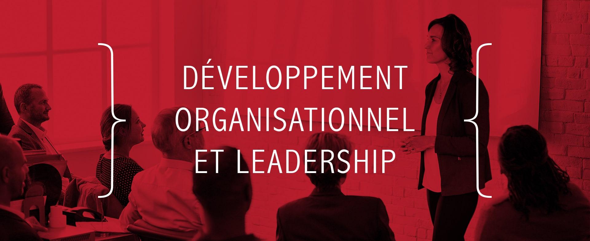 Développement organisationnel et leadership
