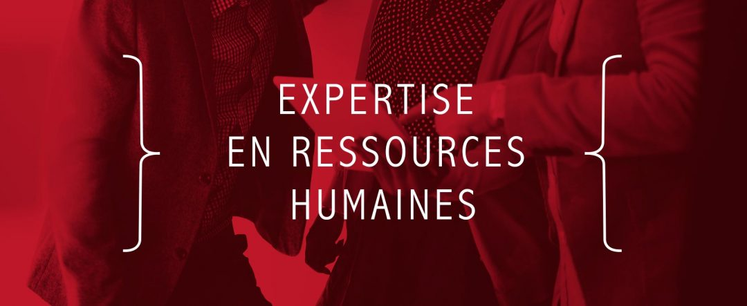 Expertise en ressources humaines